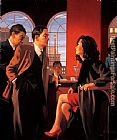 Jack Vettriano The Red Room painting
