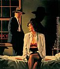 Jack Vettriano The Same Old Game II painting