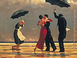Jack Vettriano The Singing Butler painting