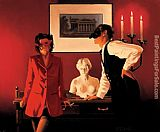 Jack Vettriano The Sparrow and the Hawk painting