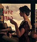 Jack Vettriano The Star Cafe painting