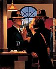 Jack Vettriano The Twilight Zone painting