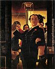 Jack Vettriano You Can't Come To This Party! painting