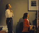 Jack Vettriano cold Hearts painting