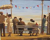 Jack Vettriano the Pier painting