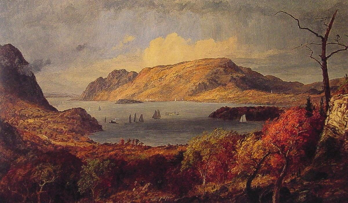 Jasper Francis Cropsey Gates of the Hudson