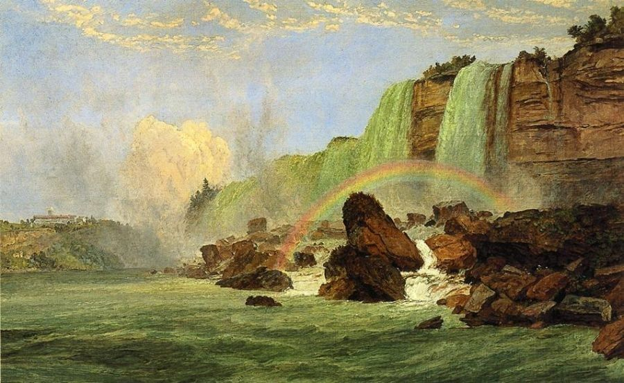 Jasper Francis Cropsey Niagara Falls with View of Clifton House