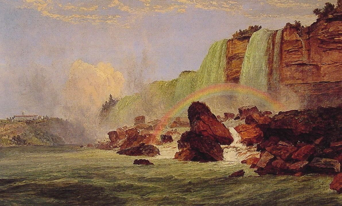 Jasper Francis Cropsey Niagara Falls with a View of Clifton House