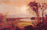 Jasper Francis Cropsey A Bend in the River painting