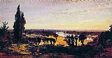 london Canvas Prints - Richmond Hill and the Thames, London