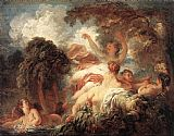 Jean Fragonard The Bathers painting