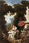 Jean Fragonard The Confession of Love painting