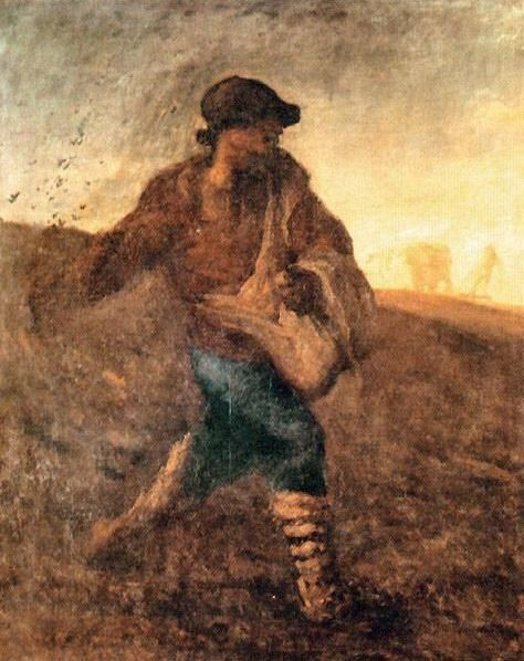 Jean Francois Millet The sower