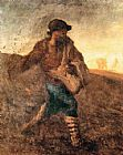 jean francois millet Paintings - The sower