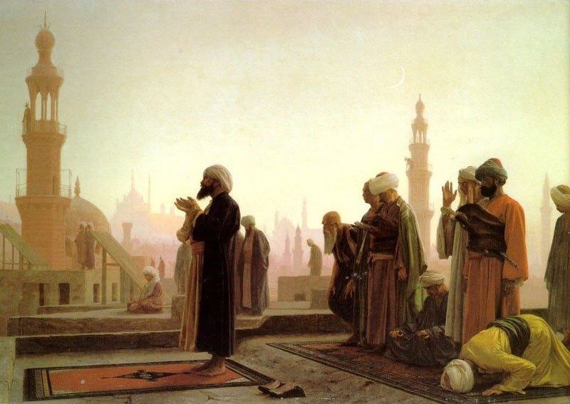 Jean-Leon Gerome Prayer in Cairo