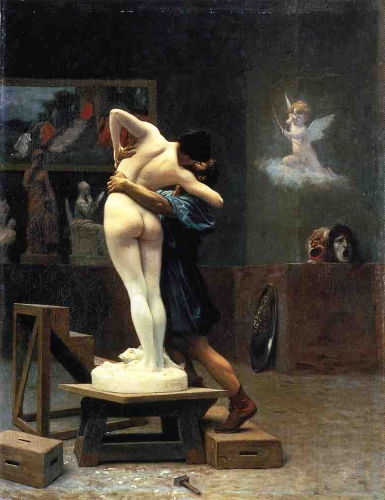 Jean-Leon Gerome Pygmalion and Galatea