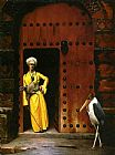 Jean-Leon Gerome The Marabou painting