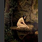 Nude paintings - The Water Nymph by John Collier