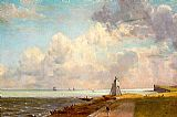 John Constable Harwich Lighthouse painting