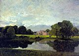 John Constable Malvern Hall painting
