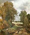John Constable The Cornfield of 1826 painting