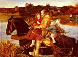 John Everett Millais A Dream of the Past - Sir Isumbras at the Ford painting