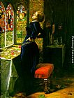 John Everett Millais Mariana in the Moated Grange painting