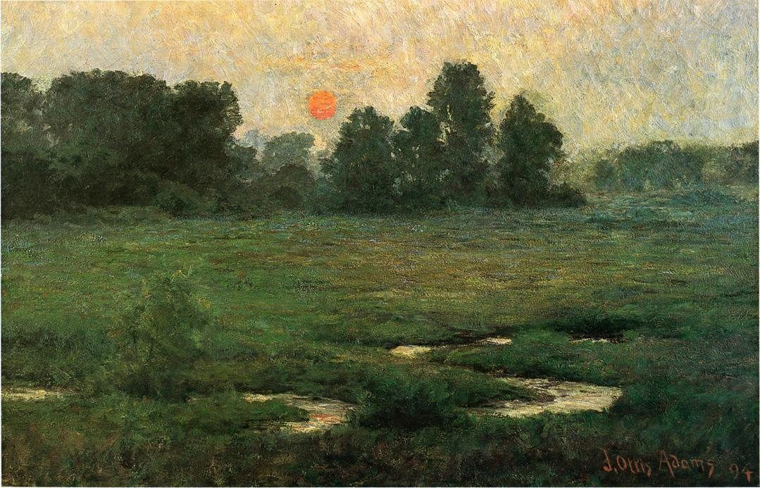 John Ottis Adams An August Sunset