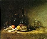 John Ottis Adams Still Life 1883 painting