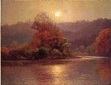 John Ottis Adams The Closing of an Autumn Day painting