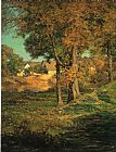 John Ottis Adams Thornberry's Pasture Brooklyn Indiana painting