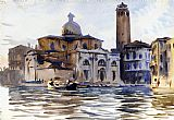 John Singer Sargent Palazzo Labbia Venice painting