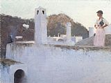 John Singer Sargent View of Capri painting
