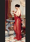 John William Godward The New Perfume painting