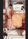 John William Godward Waiting for an Answer painting