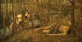 John William Waterhouse A Naiad painting