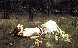 John William Waterhouse Ophelia painting