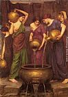 John William Waterhouse The Danaides painting