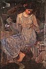 John William Waterhouse The Necklace painting