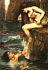 Figure Classic paintings - The Siren by John William Waterhouse