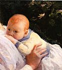 Joseph DeCamp Theodore Lambert DeCamp as an Infant painting