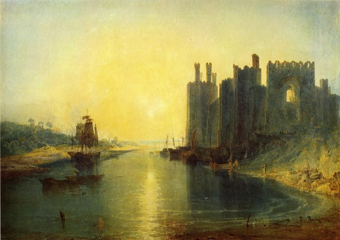 Joseph Mallord William Turner Caernarvon Castle
