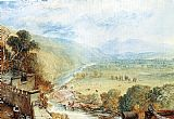 Joseph Mallord William Turner Ingleborough From The Terrace Of Hornby Castle painting