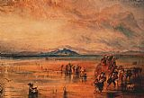 Joseph Mallord William Turner Lancaster Sands painting