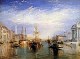 Venice paintings - The Grand Canal Venice by Joseph Mallord William Turner
