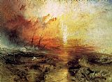 Boat paintings - The Slave Ship by Joseph Mallord William Turner