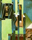Music paintings - The Guitar by Juan Gris