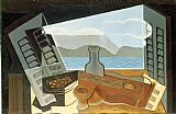 Music paintings - The Open Window by Juan Gris