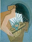 Juan Gris Woman with a Basket painting