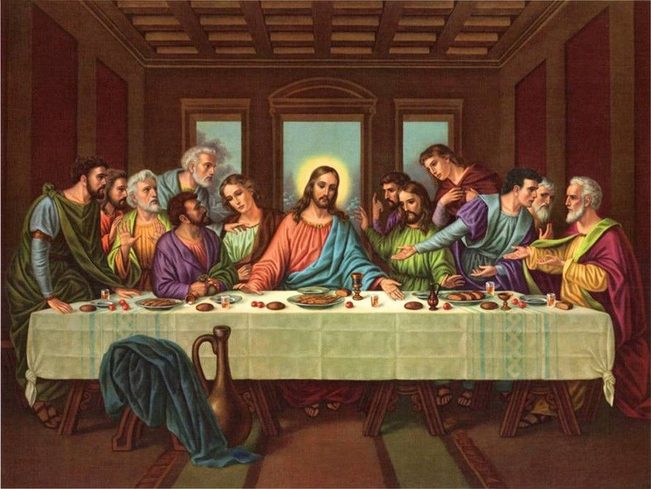 Leonardo da Vinci picture of the last supper II